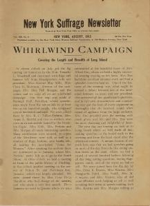 Long Island's 1912 campaign