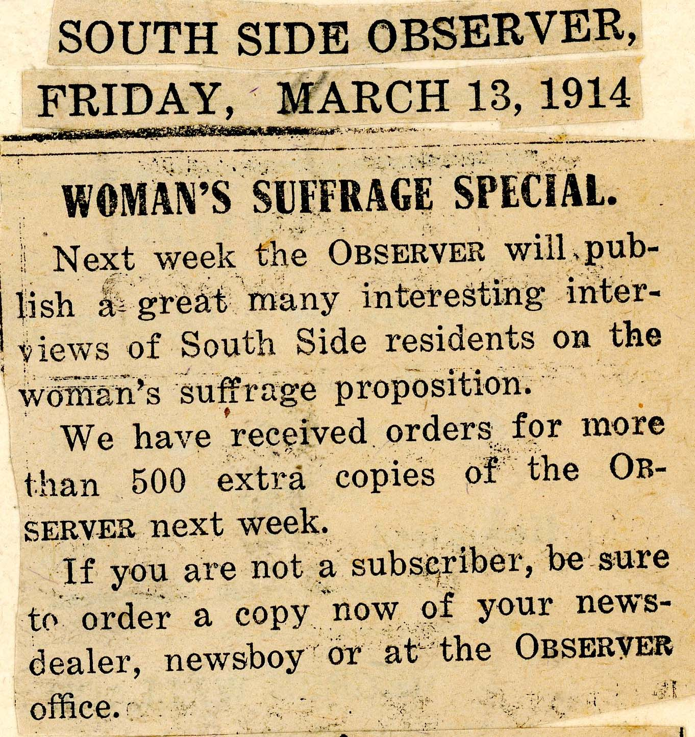 Women's Suffrage Quotes Citizen Reporters And Grassroots Organizers Have Ancestors In The