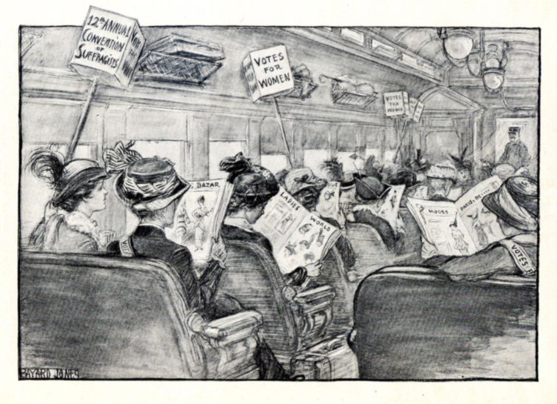 Women's Rights Before 19th Amendment