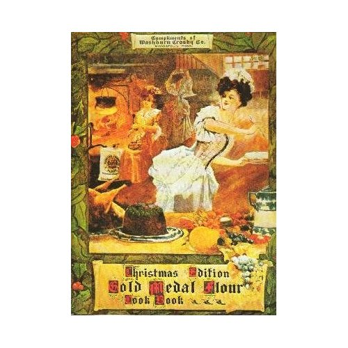 Christmas Edition Gold Medal Flour Cook Book