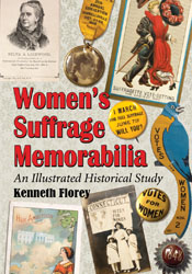 Kenneth Florey book on suffrage memorabilia