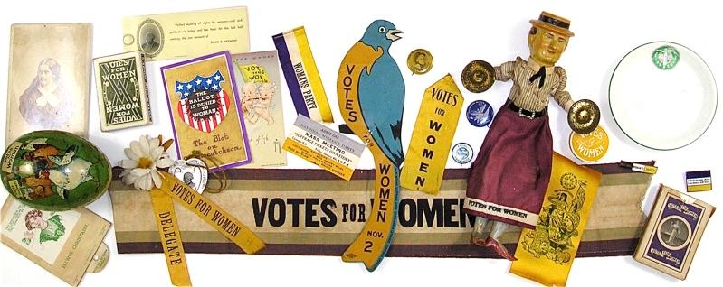 Suffrage Memorabilia