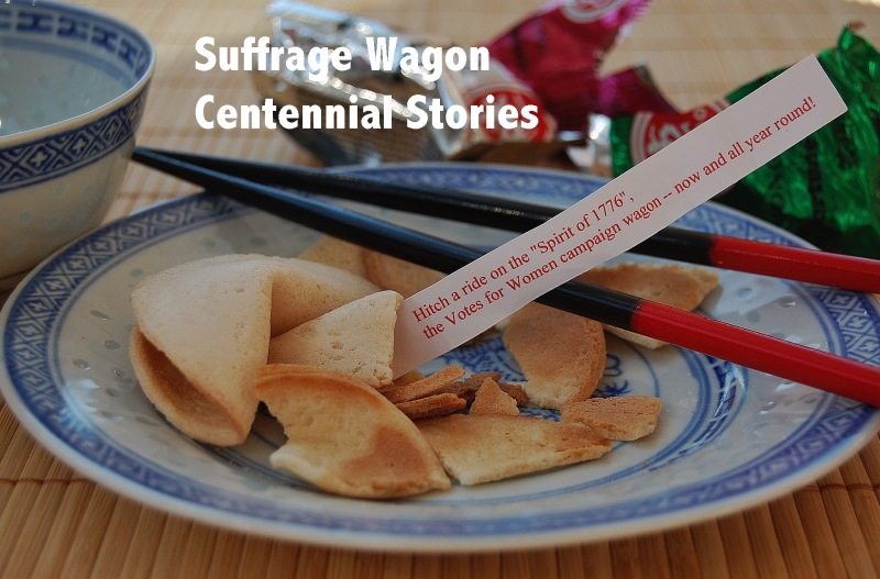 Suffrage Wagon Stories