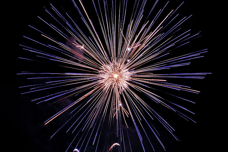 Fireworks. Photo: Tom Walsh.