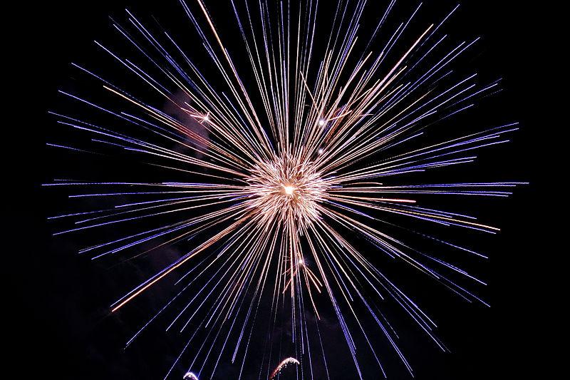Fireworks. Photo: Tom Walsh.