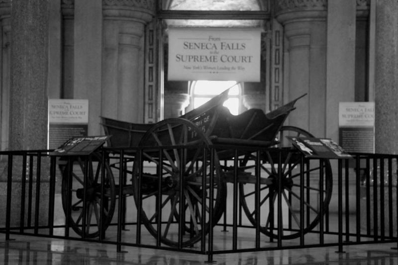 Suffrage Campaign Wagon
