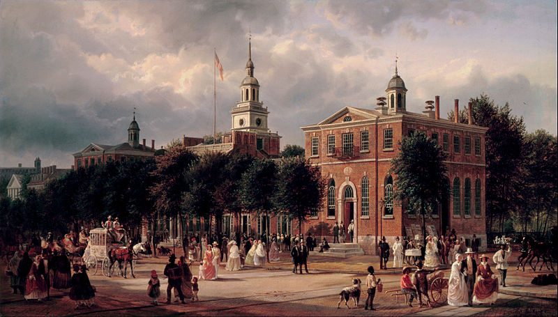 800px-Ferdinand_Richardt_-_Independence_Hall_in_Philadelphia_-_Google_Art_Project