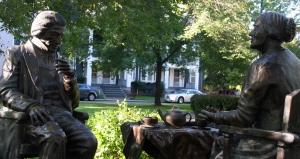 Frederick Douglass & Susan B. Anthony
