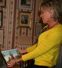 Nancy Brown of the Elizabeth Cady Stanton Hometown Association