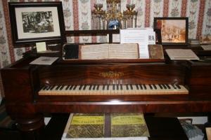 Elizabeth Cady Stanton's piano