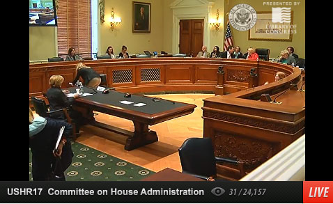 Congressional hearing on national women's history museum