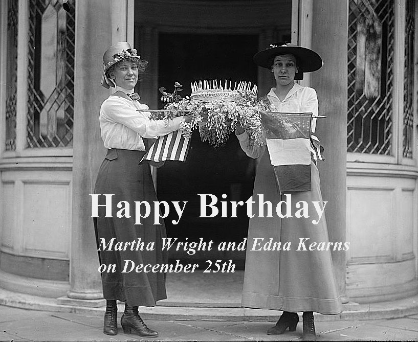 Martha Wright & Edna Kearns birthdays