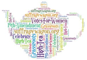 Tea for Two at Suffrage Wagon News Channel