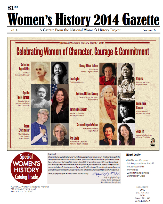 2014 National Women's History Month Nominees