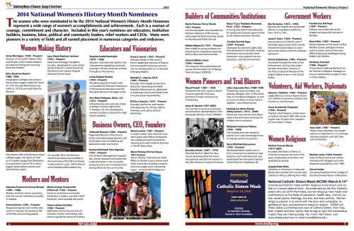 Edna Kearns: 2014 National Women's History Month Nominee