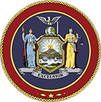 Seal of Governor of NYS