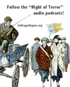 """Night of Terror"" podcasts on Suffrage Wagon News Channel"