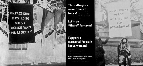 Suffrage Wagon supports suffragist memorial