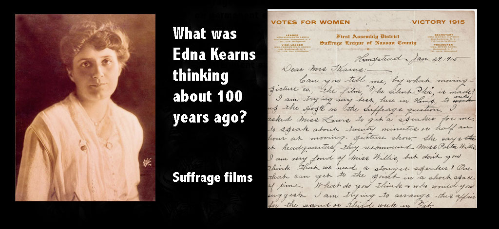 Edna Kearns: 100 years ago