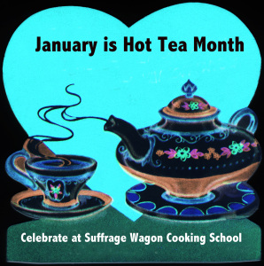 January is Hot Tea Month