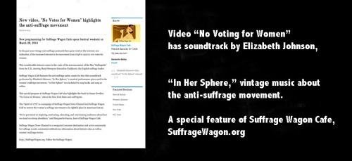 Anti-Suffrage Movement video