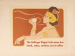 Suffrage Wagon Cafe is open