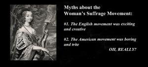 Suffrage Movement Myth