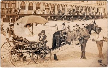 1913 Spirit of 1776 wagon, 1913, Long Beach