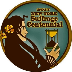 NYS state suffrage centennial 2017